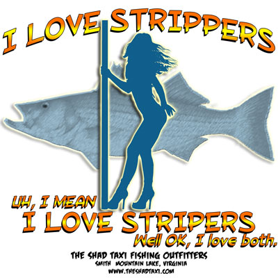 I love stripers T Shirt