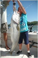 Smith Mountain Lake Striper Fishing Water Temperatures