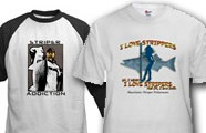 Striper Fishing T Shirts